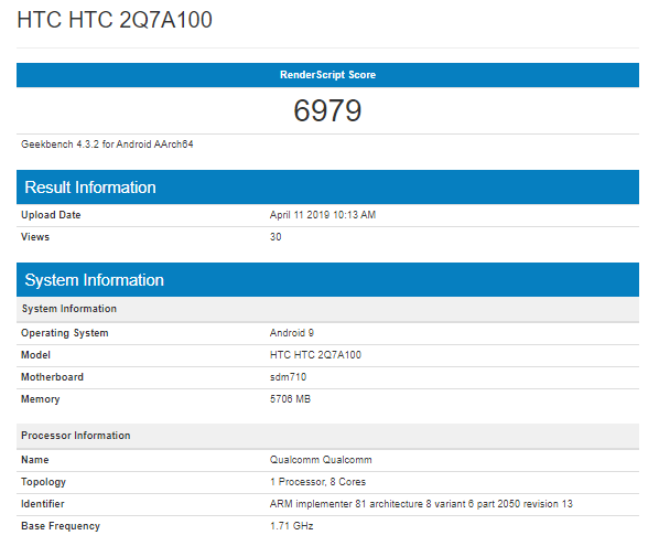 HTC-2Q7A100-Geekbench