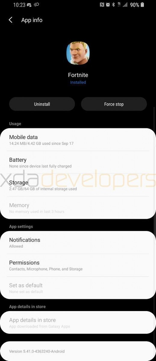 samsung galaxy s9 plus android pie