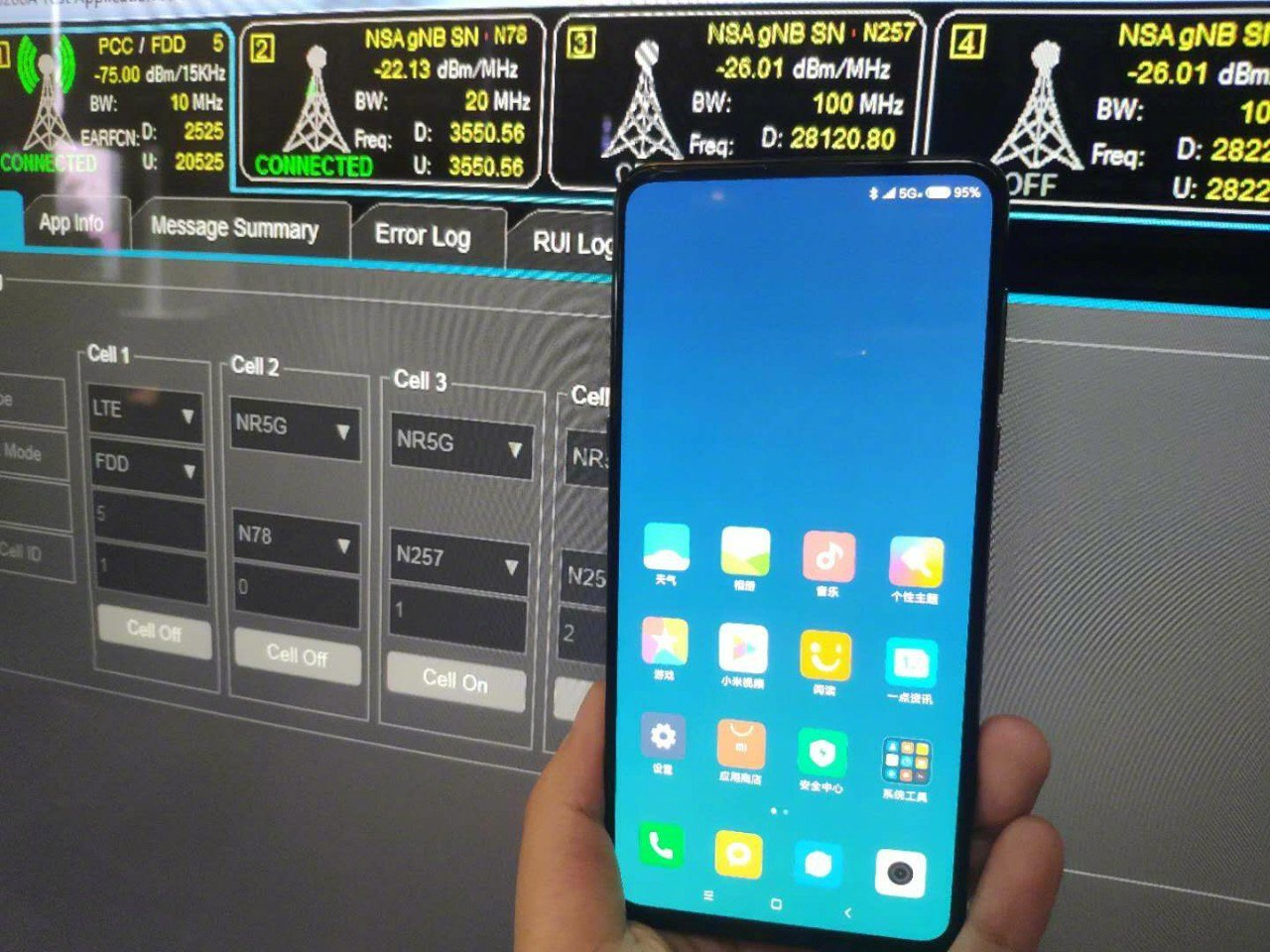 Xiaomi Mi Mix 3: Une photo confirme le support 5G