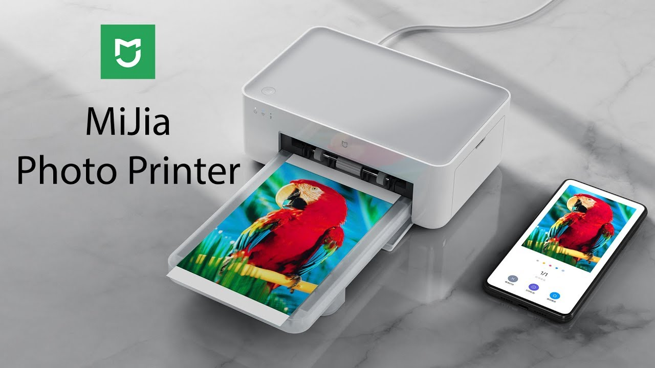 Xiaomi lance le Mijia Photo Printer une imprimante portable Compacte et a petit prix