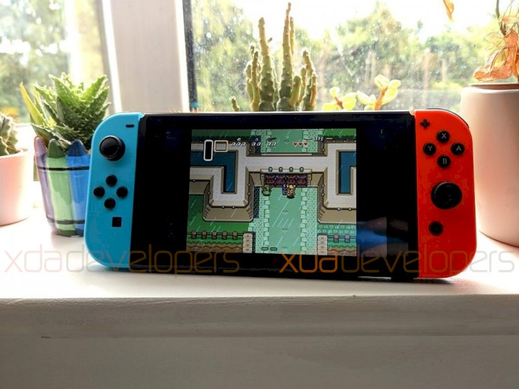 Android Q sur Nintendo Switch